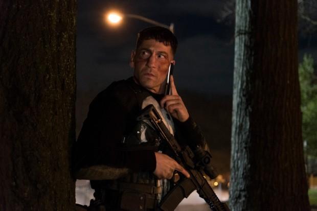 Jon Bernthal in The Punisher on Netflix