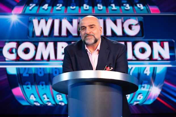 Winning Combination host Omid Djalili