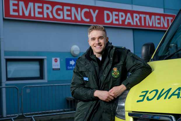 Casualty Special - 1st Dec 2020Leon(BOBBY LOCKWOOD)PHOTO BY ALISTAIR HEAP