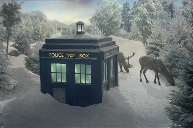 Doctor Who Christmas ident