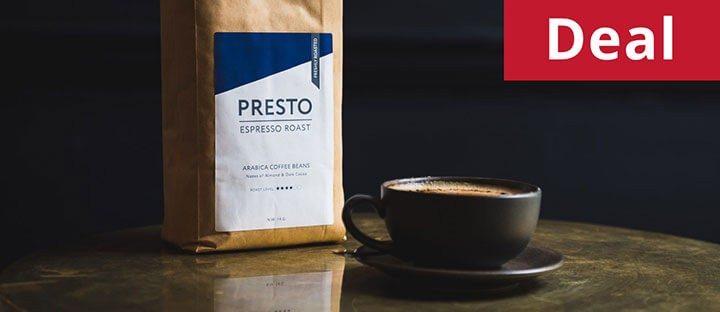 Presto Espresso Blend - Timeout - Coffee Beans 1KG