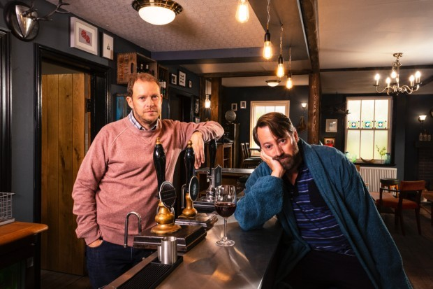 David Mitchell and Robert Webb star in Back series 2 on Channel 4