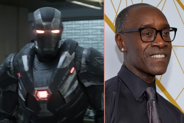 Don Cheadle plays James Rhodes aka War Machine in Avengers and Armour Wars