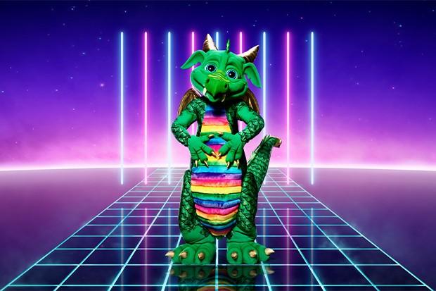 masked singer dragon