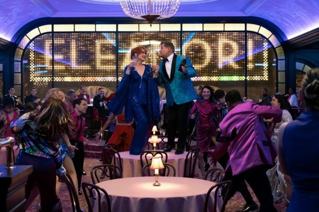 James Corden and Meryl Streep star in The Prom on Netflix