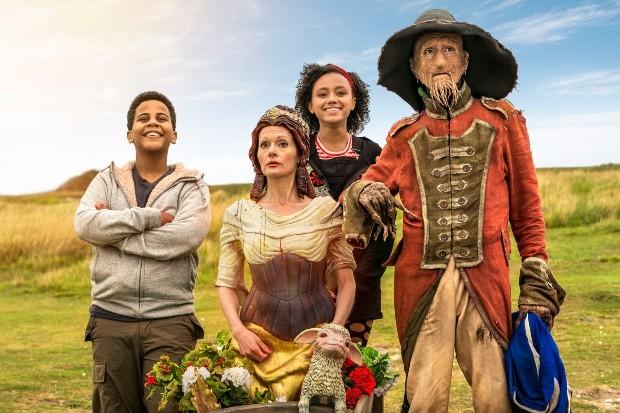Worzel Gummidge season 2 (BBC) cast