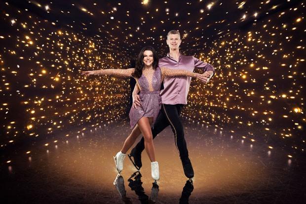 Dancing on Ice 2021 Faye Brooks and Hamish Gaman