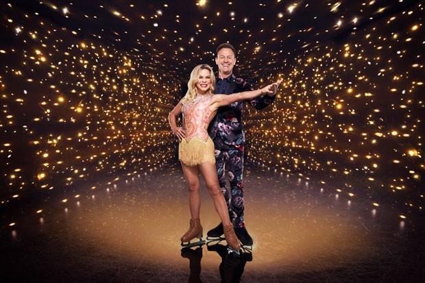 Dancing on Ice 2021 Jason Donovan and Alexandra Shauman
