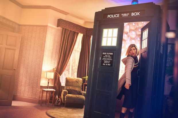 Jodie Whittaker TARDIS