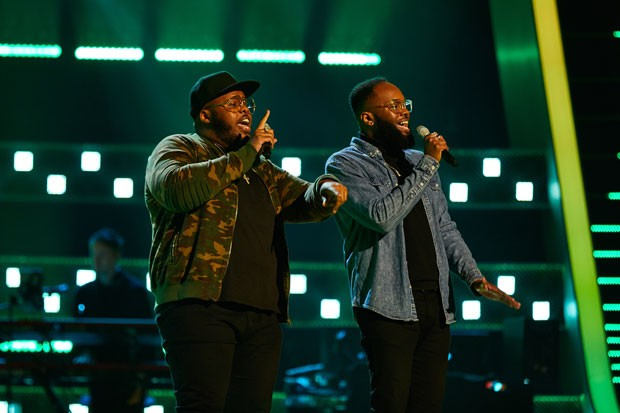 The Voice UK 2021 contestants Jordan and Wesley