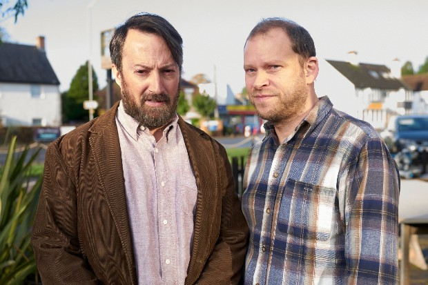 David Mitchell and Robert Webb in series two of Back