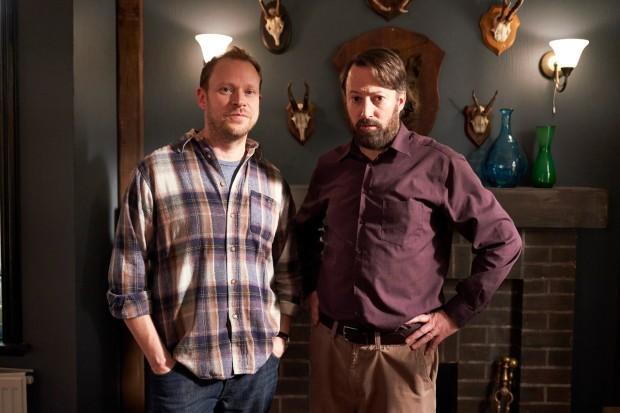 Back series 2 starring David Mitchell and Robert Webb