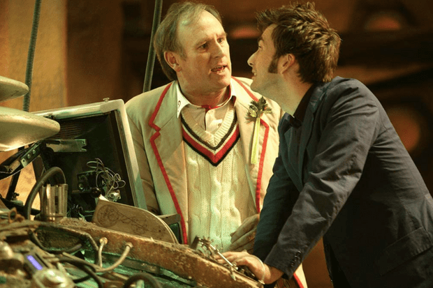 Doctor Who – David Tennant and Peter Davison in Time Crash