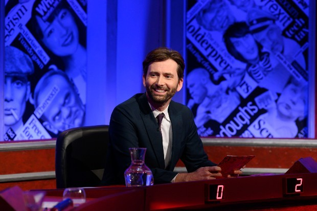 David Tennant hosts Have I Got News For You on BBC One