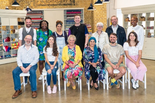 The Great British Sewing Bee series 7 line-up
