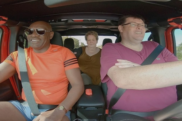 The Chasers' Road Trip: Trains, Brains and Automobiles