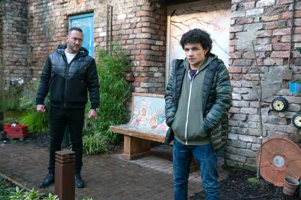 coronation street harvey, simon barlow