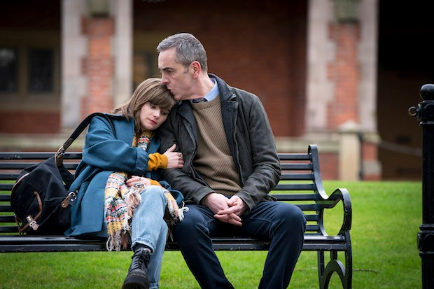 James Nesbitt and Lola Petticrew in Bloodlands