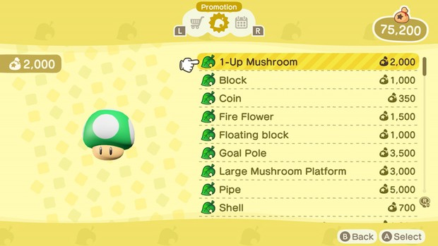 Where to Buy Mario Items in Animal Crossing |