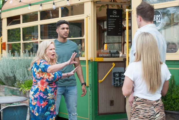 neighbours sheila canning levi canning kyle canning roxy willis