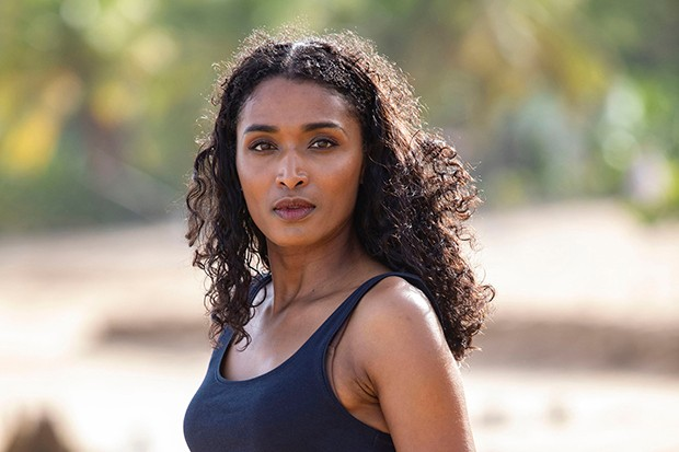 Sara Martins plays DS Camille Bordey in Death in Paradise