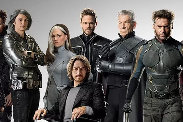 Cast members from X-Men: Days of Future Past (Fox, Disney)
