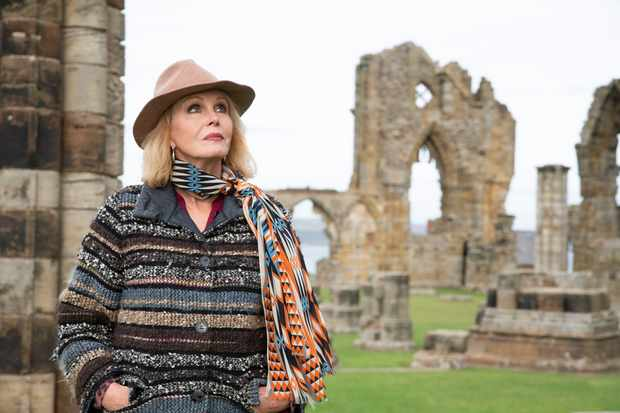 From Burning Bright Productions JOANNA LUMLEYÕS HOME SWEET HOME - TRAVELS IN MY OWN LAND Tuesday 2nd February 2021 on ITV Pictured Joanna Lumley visits the ruins of Whitby Abbey After a lifetime of travels that have taken her across the globe, Joanna Lumley is making her most personal journey yet. Starting at Tilbury Docks in Essex she heads north, making a nostalgic return to Coronation Street, before ending the journey in Whitby. Over three episodes, sheÕll travel from the Yorkshire Dales to the GiantÕs Causeway, from the Highlands of Scotland to the cobbles of Coronation Street, retracing old steps, meeting inspiring people, and exploring the wonders of the country she calls home. (c) Burning Bright For further information please contact Peter Gray peter.gray@itv.com This photograph is © BURNING BRIGHT PRODUCTIONS and can only be reproduced for editorial purposes directly in connection with the programme JOANNA LUMLEYÕS HOME SWEET HOME - TRAVELS IN MY OWN LAND or ITV. Once made available by the ITV Picture Desk, this photograph can be reproduced once only up until the Transmission date and no reproduction fee will be charged. Any subsequent usage may incur a fee. This photograph must not be syndicated to any other publication or website, or permanently archived, without the express written permission of ITV Picture Desk. Full Terms and conditions are available on the website https://www.itv.com/presscentre/itvpictures/terms