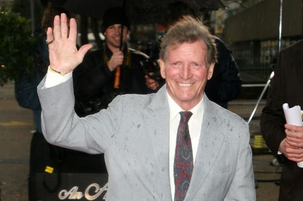 Johnny Briggs played Mike Baldwin on Coronation Street