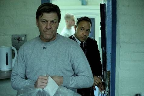 Sean Bean and Stephen Graham in BBC's Time