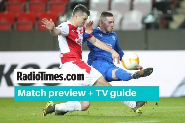 What channel is Rangers v Slavia Prague Europa League match on? Kick off time, live stream and latest team news