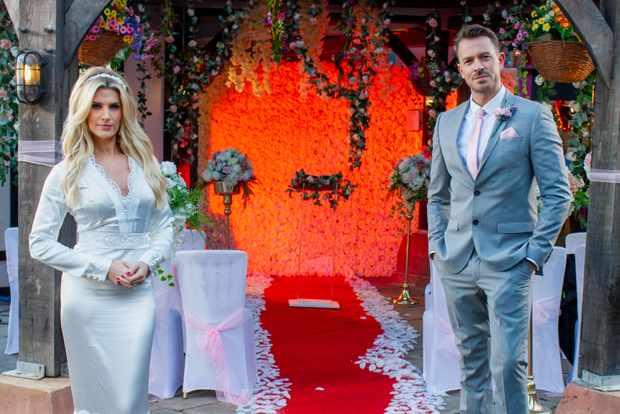 hollyoaks mandy richardson darren osborne wedding week 11