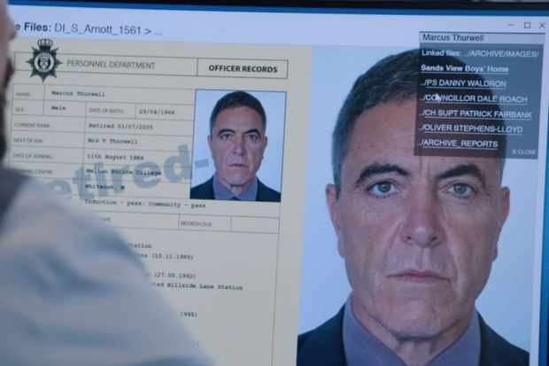 James Nesbitt plays Marcus Thurwell in Line of Duty