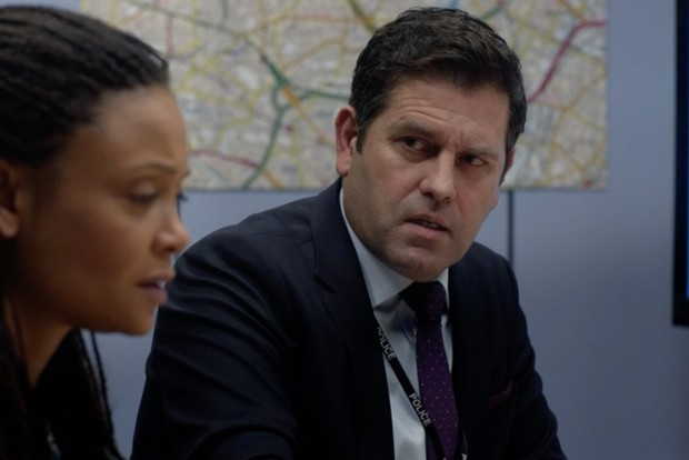 Patrick Baladi plays Jimmy Lakewell in Line of Duty
