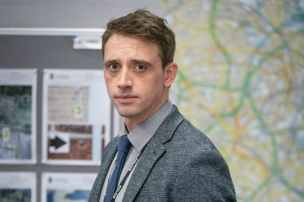 Perry Fitzpatrick plays DS Chris Lomax in Line of Duty
