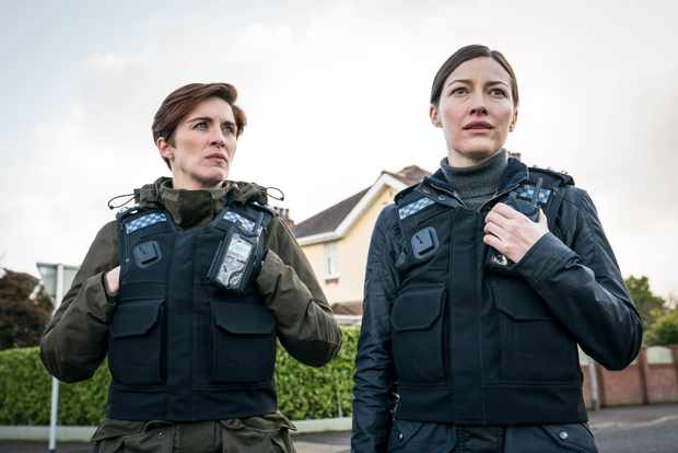 Vicky McClure and Kelly Macdonald in Line of Duty season 6