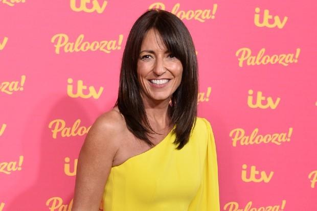 Davina McCall attending an ITV event