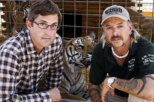 Louis Theroux with Joe Exotic in American's Most Dangerous Pets