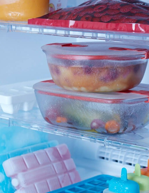 Pyrex Cook & Heat Round + Square Glass Food Containers with Microwave Safe Vented Lids