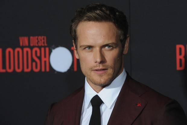 Sam Heughan, star of Outlander and Bloodshot