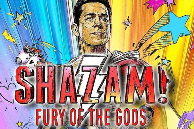shazam fury of the gods poster