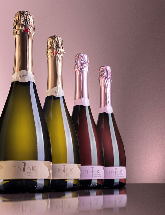 2x ThinK Prosecco 75cl and 2x bottles of ThinK Pink 75cl
