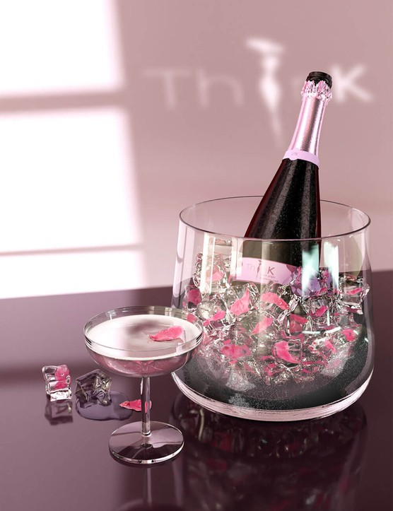 Bottle of ThinK Pink 75cl