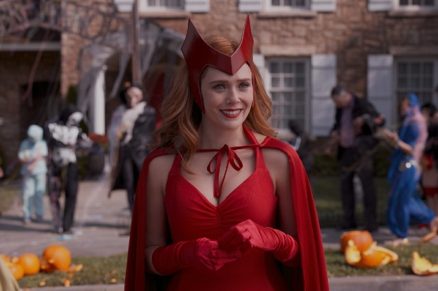 Elizabeth Olsen as Scarlet Witch/Wanda in WandaVision