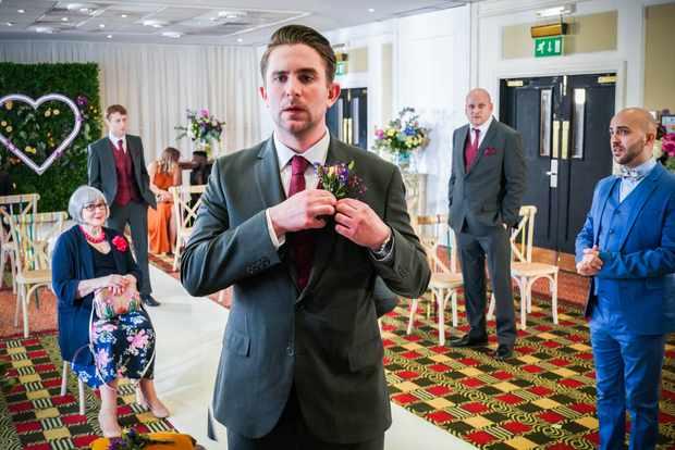 eastenders callum ben wedding