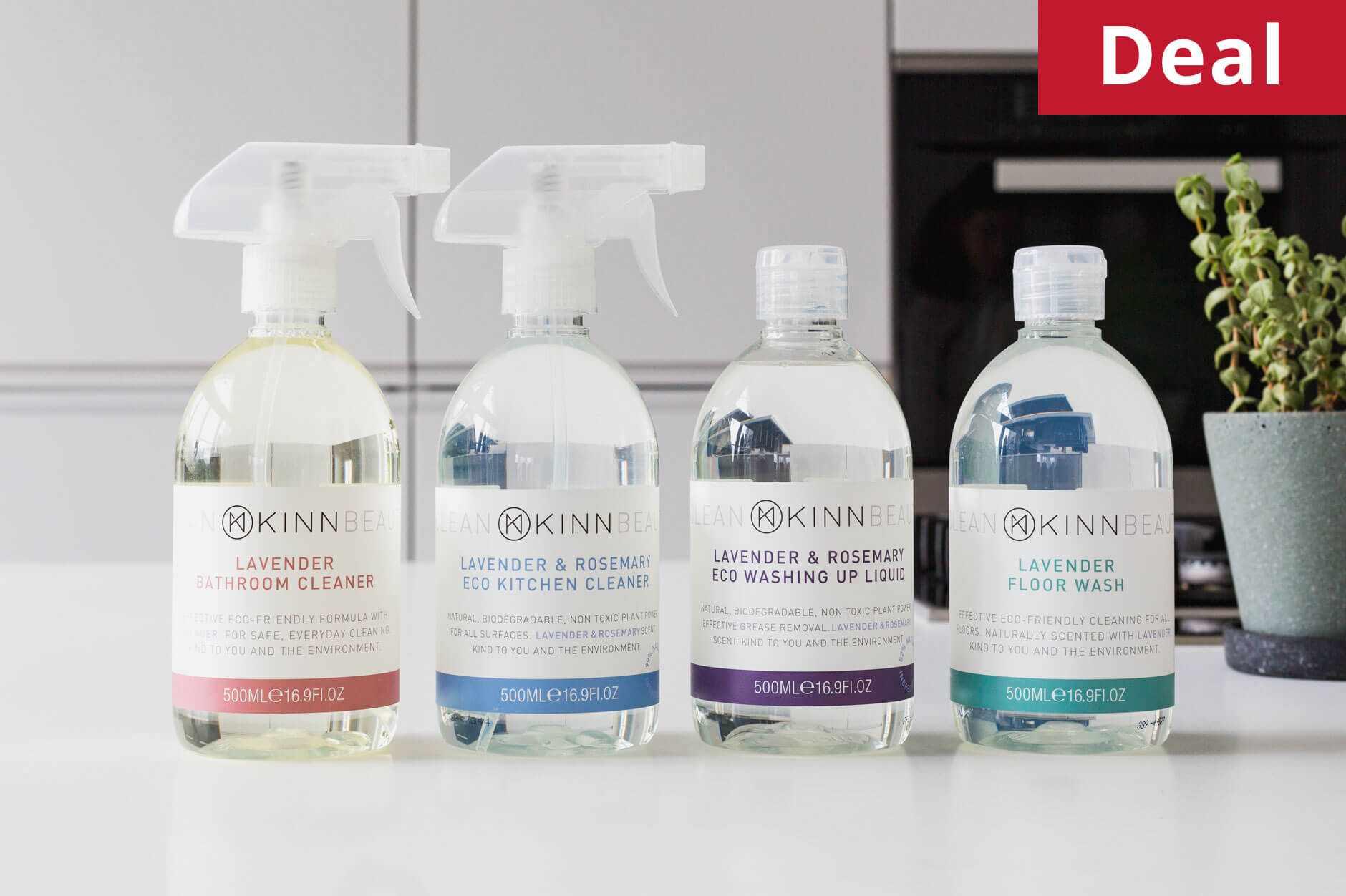 KINN Living vegan cleaning bundle
