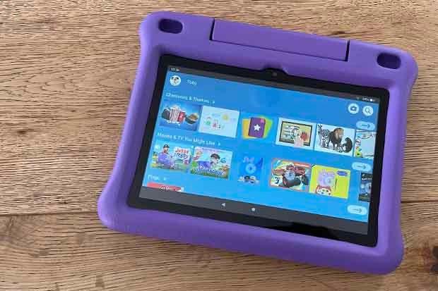 Amazon Fire HD 8 Kids Edition app screen