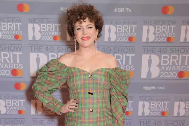 LONDON, ENGLAND - FEBRUARY 18: (EDITORIAL USE ONLY)  Annie Mac attends The BRIT Awards 2020 at The O2 Arena on February 18, 2020 in London, England.  (Photo by David M. Benett/Dave Benett/Getty Images)