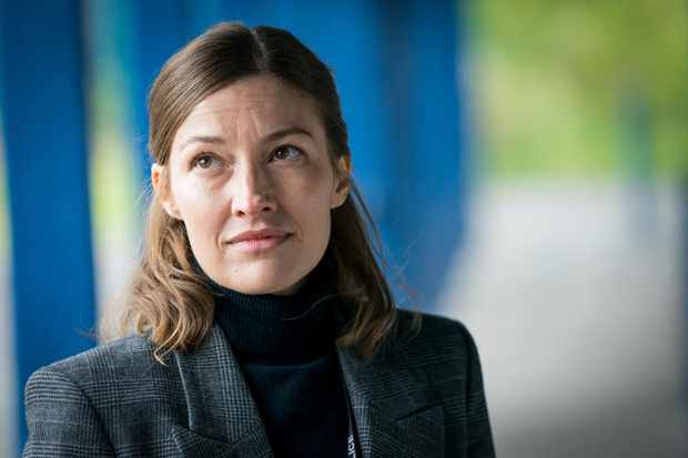 Kelly Macdonald as DCI Jo Davidson in Line of Duty