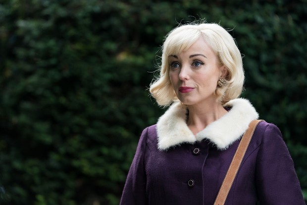 Helen George plays Trixie in Call The Midwife