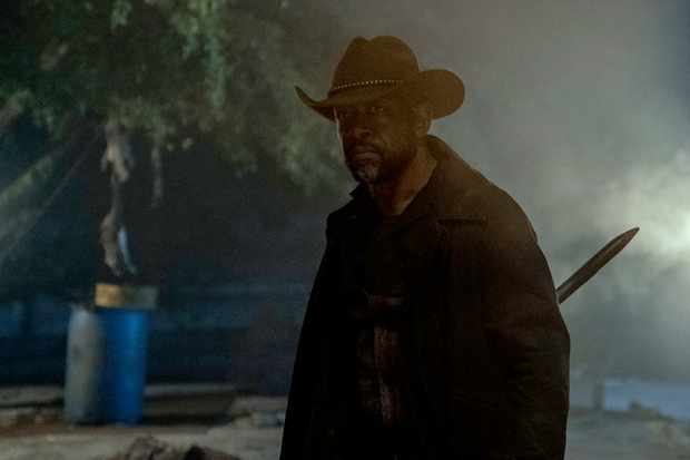 Lennie James as Morgan in Fear the Walking Dead